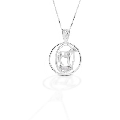 Kelly Herd Small World Trophy Necklace - Sterling Silver