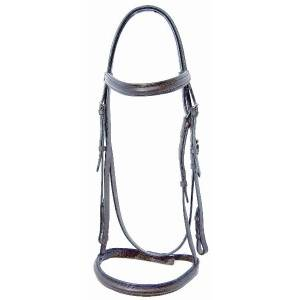 Pro-Trainer Raised Self Padded Bridle