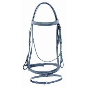 Pro-Trainer Self Padded Raised Flash Snaffle Bridle