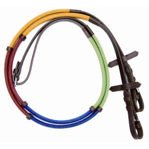Pro-Am Rubber Rainbow Reins