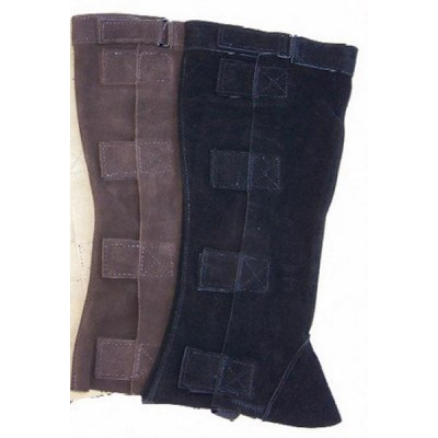 Suede Half-Chaps with Velcro