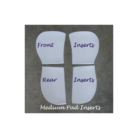 Trifecta Cotton Half Pad Bridging Inserts