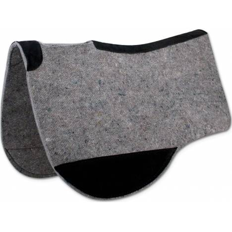 Tucker Cut Back Felt Round Contour Western Saddle Pad