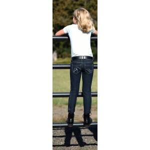 Irideon Diamond Horse Pocket Denim Breeches -Kids