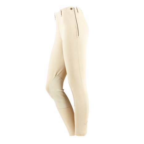 On Course Ladies Cotton Naturals Side Zip Breeches