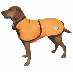 WeatherBeeta Reflective Parka Dog Coat with Belly Wrap