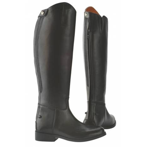 Saxon Ladies Equileather Dress Boot with Elastic