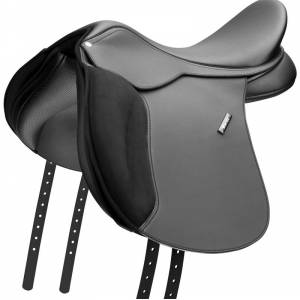 Wintec New Wide All Purpose Flocked Saddle