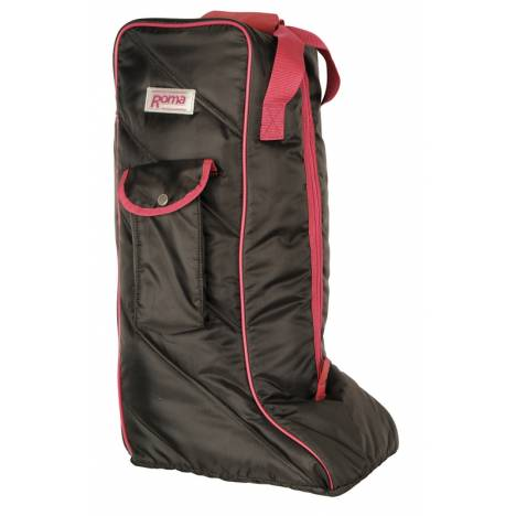 Roma Nylon Tall Boot Bag